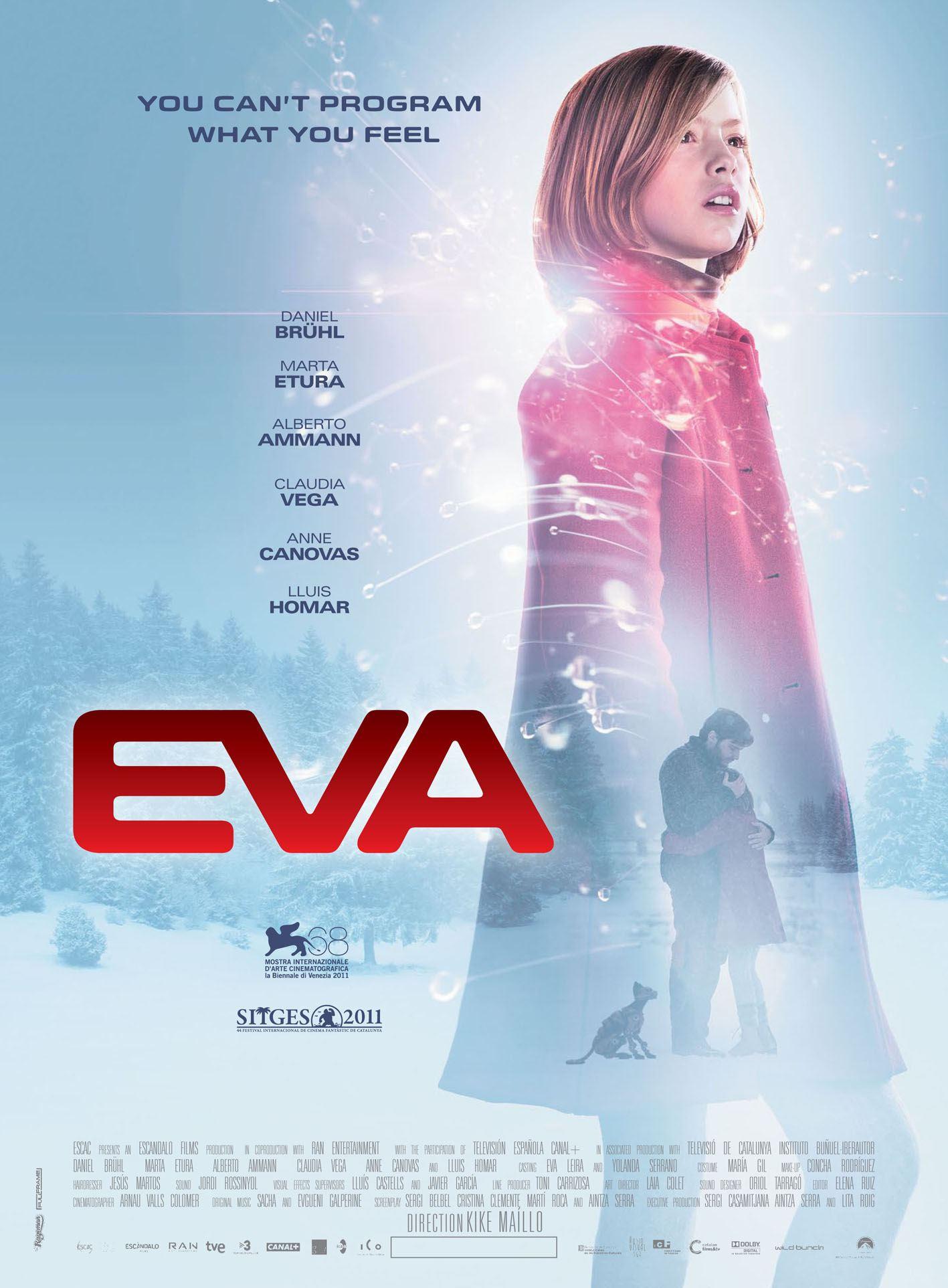 плакат фильма постер Ева: Искусственный разум