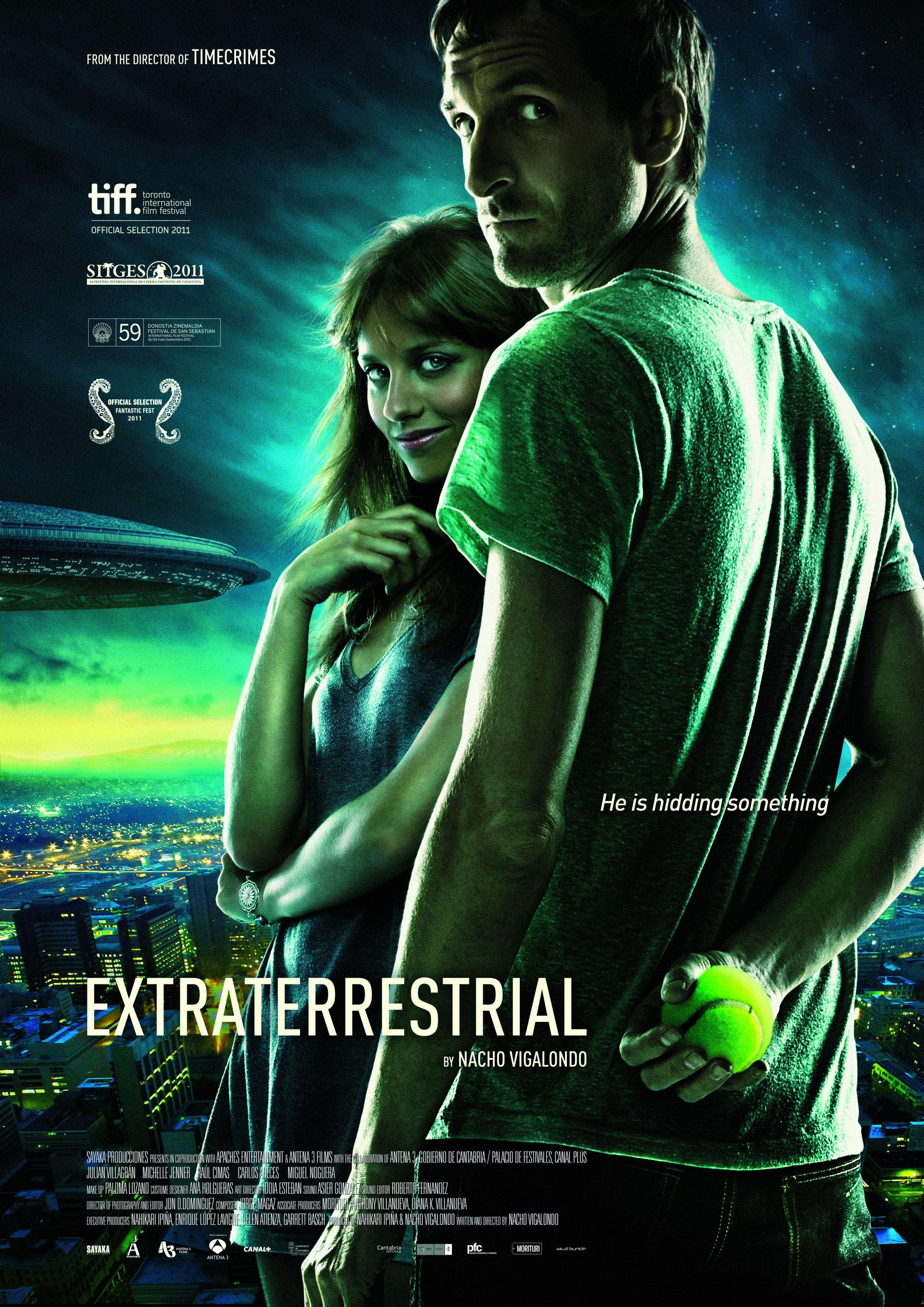плакат фильма постер Пришелец из космоса