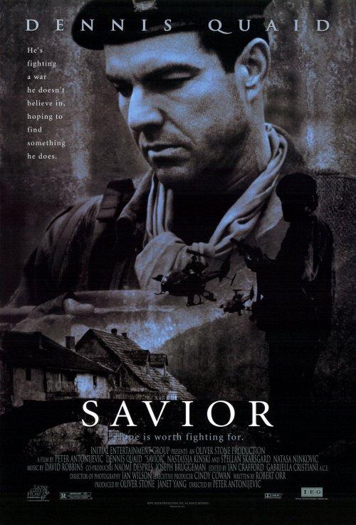 плакат фильма Спаситель