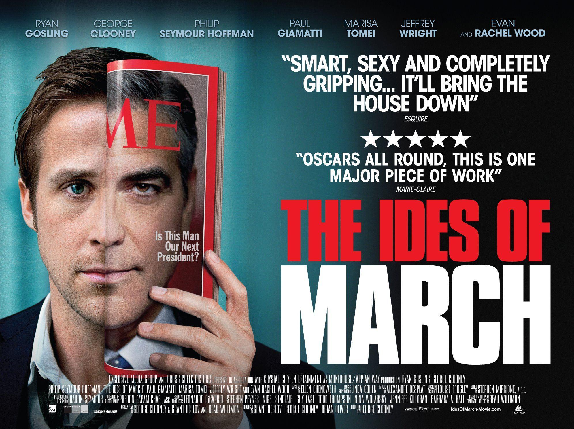 плакат фильма биллборды Мартовские иды