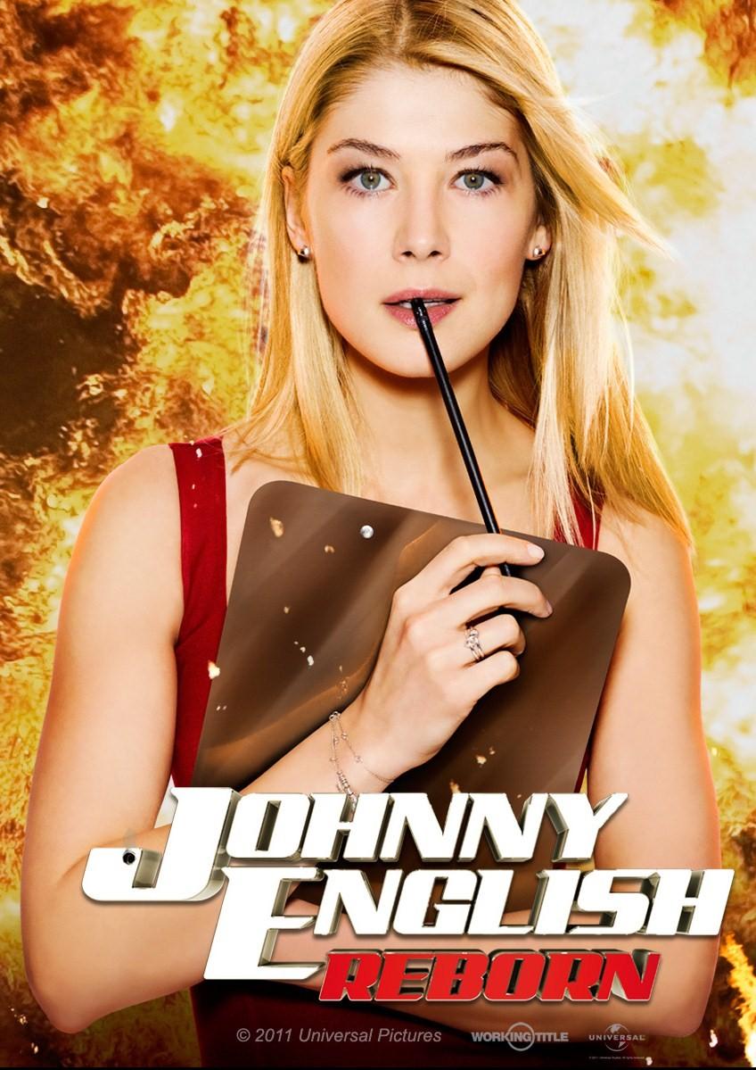 плакат фильма характер-постер Агент Джонни Инглиш: Перезагрузка