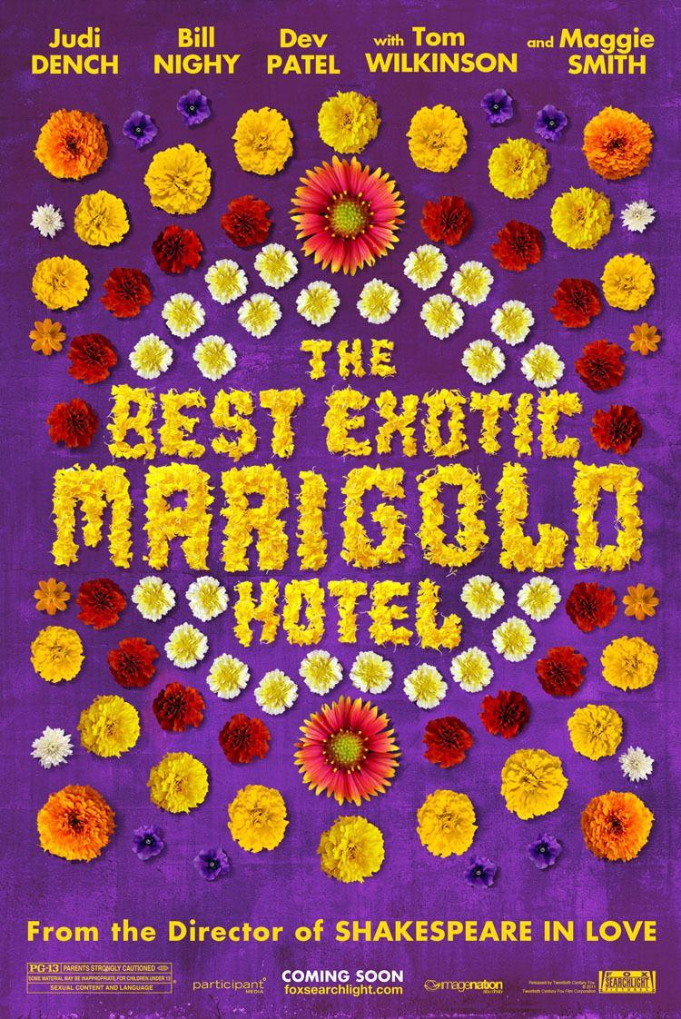 плакат фильма тизер Отель Мэриголд: Лучший из экзотических