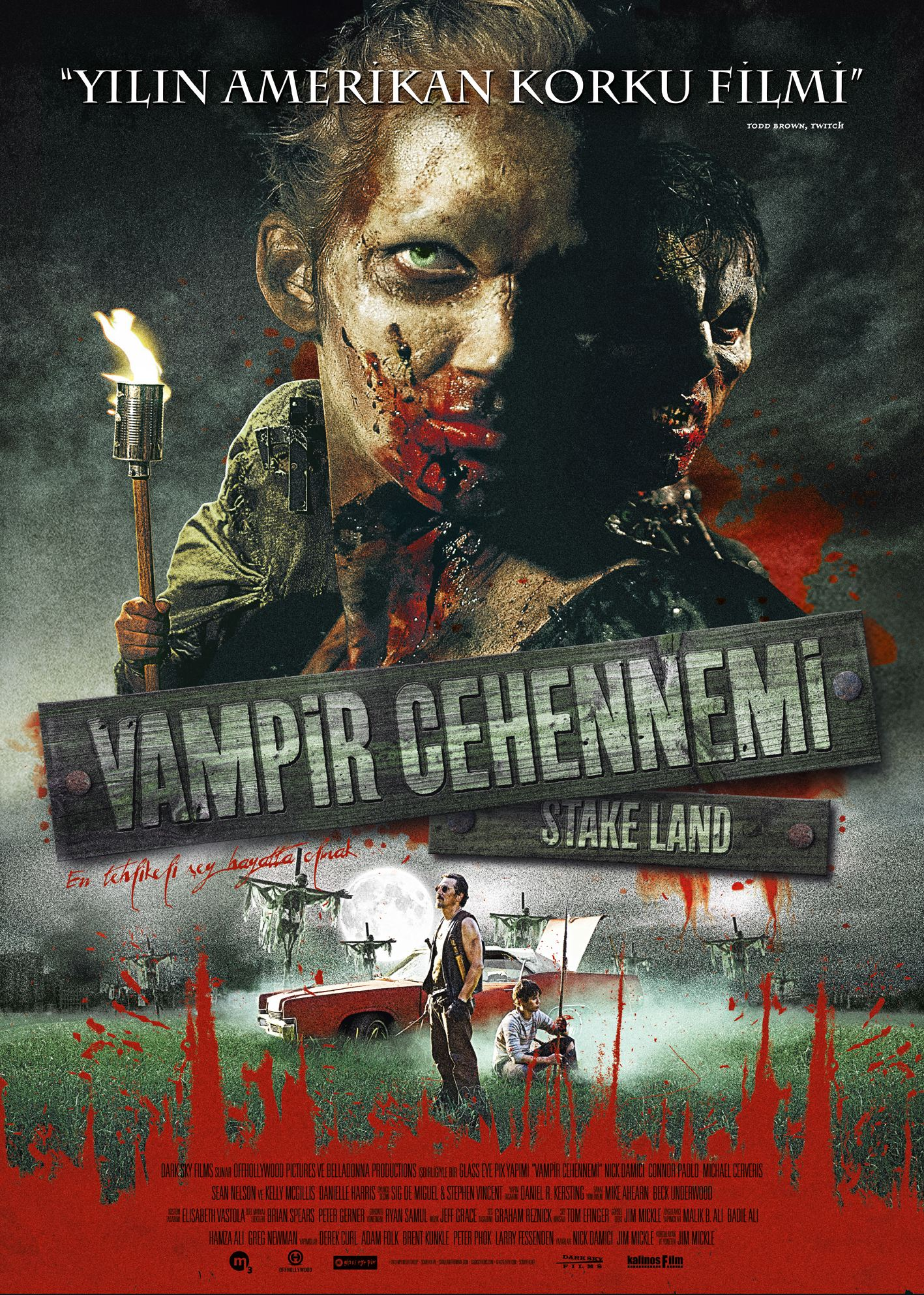 плакат фильма постер Земля вампиров