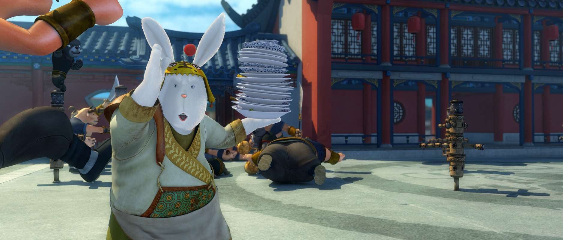 кадры из фильма Кунг-фу кролик