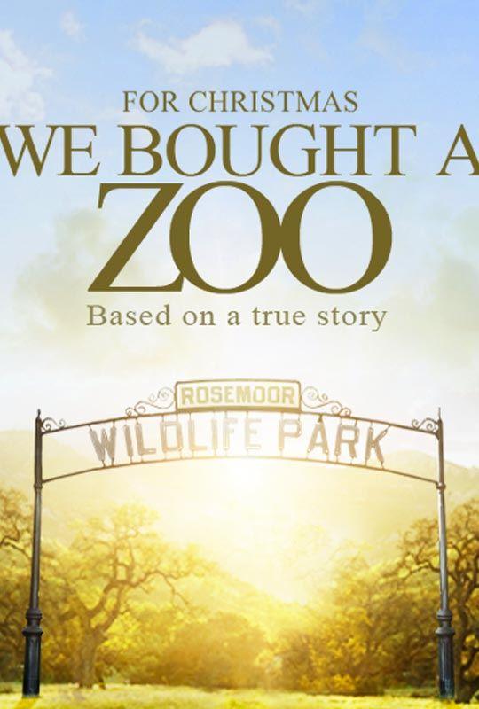 плакат фильма тизер Мы купили зоопарк