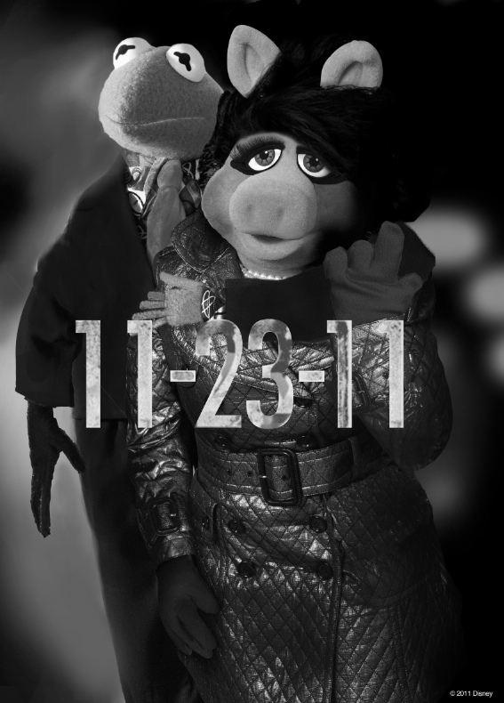 плакат фильма промо-слайды Маппеты