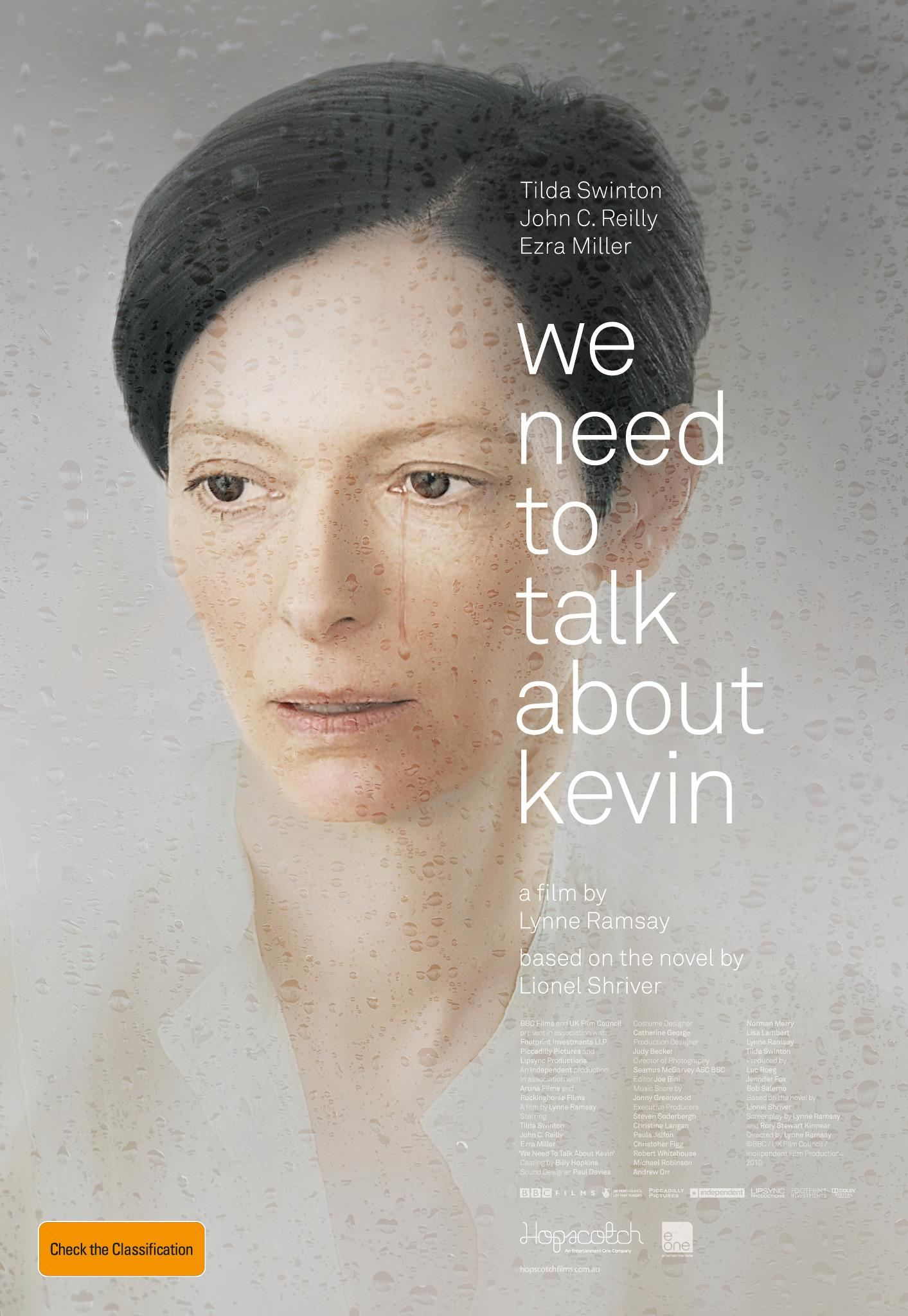 плакат фильма постер Что-то не так с Кевином