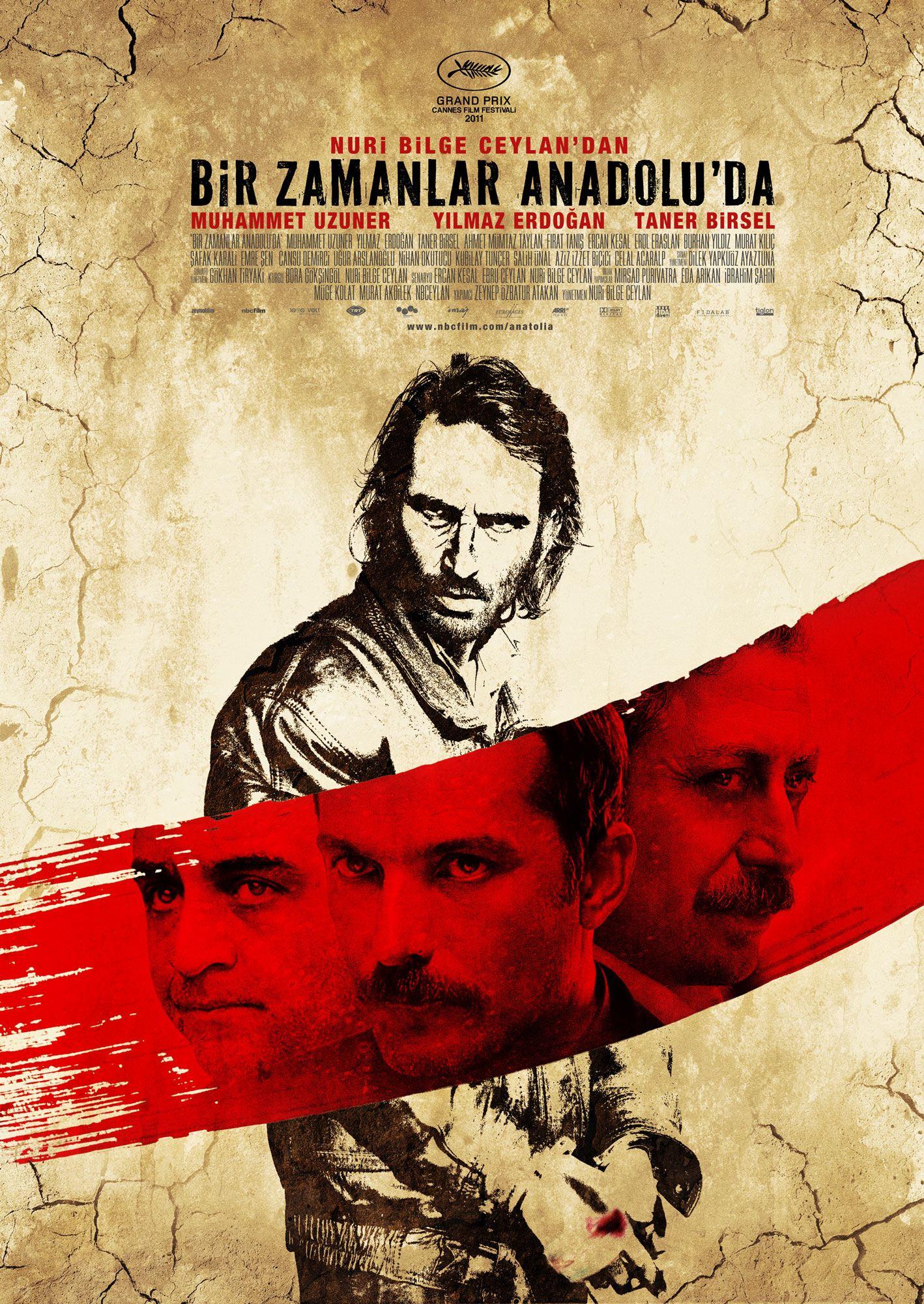 плакат фильма постер Однажды в Анатолии