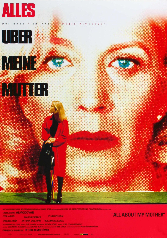 плакат фильма Все о моей матери