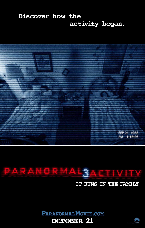плакат фильма постер Паранормальное явление 3