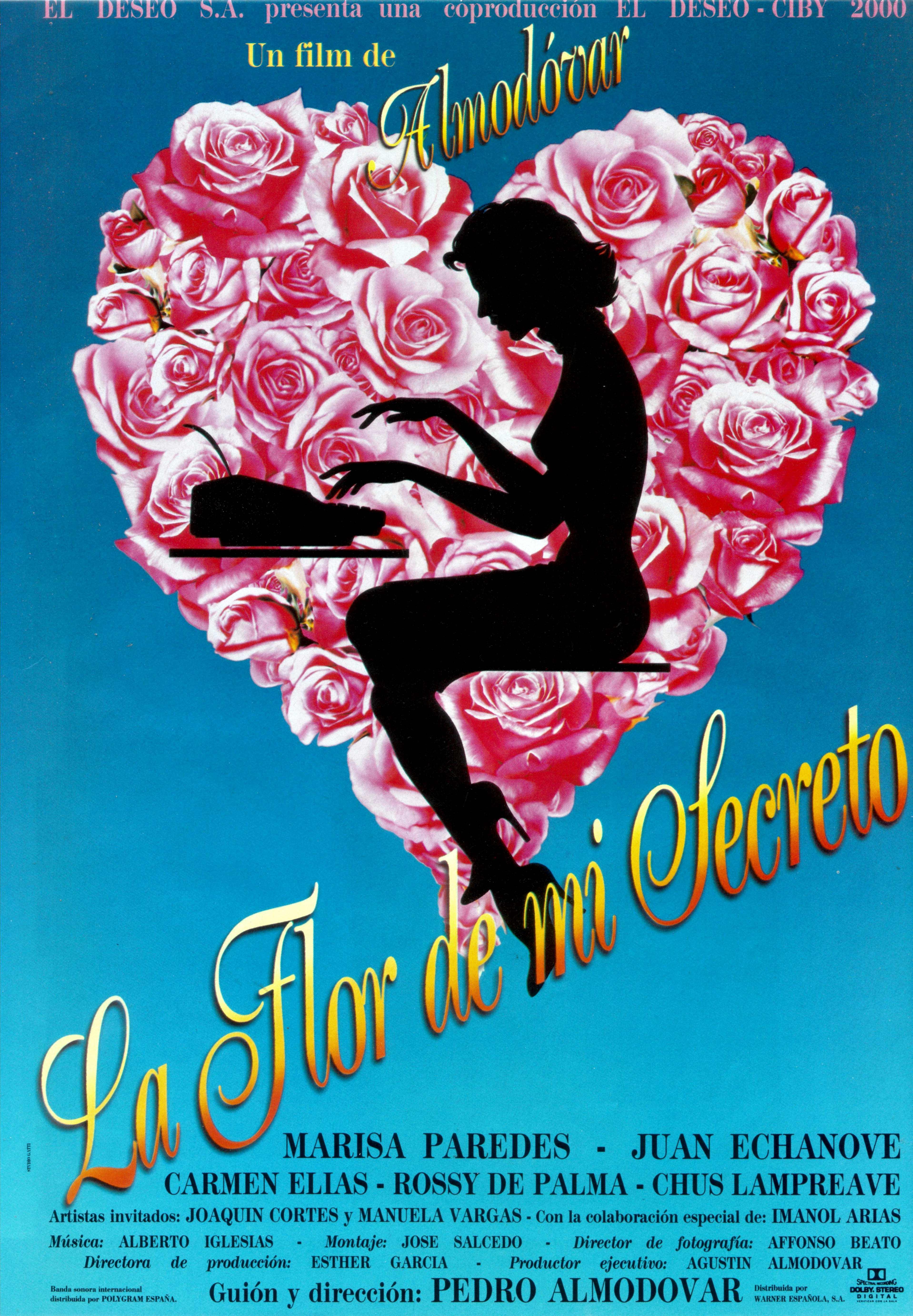 плакат фильма Цветок моей тайны