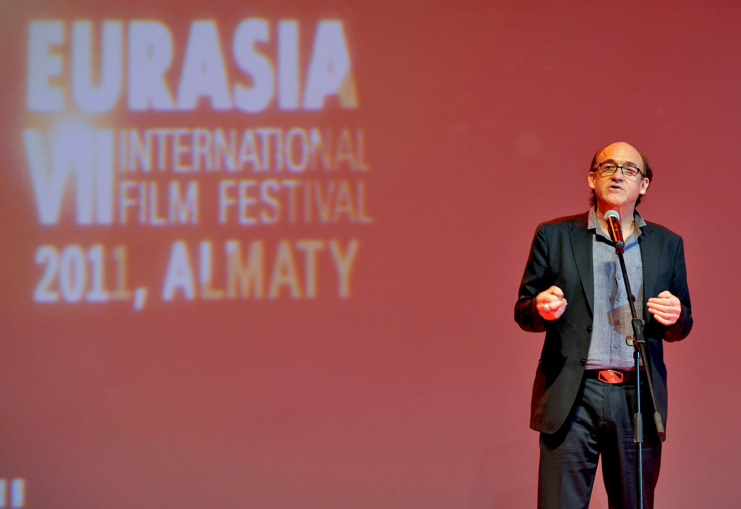 звездная дорожка VII Международный кинофестиваль «Евразия» Чак Расселл,