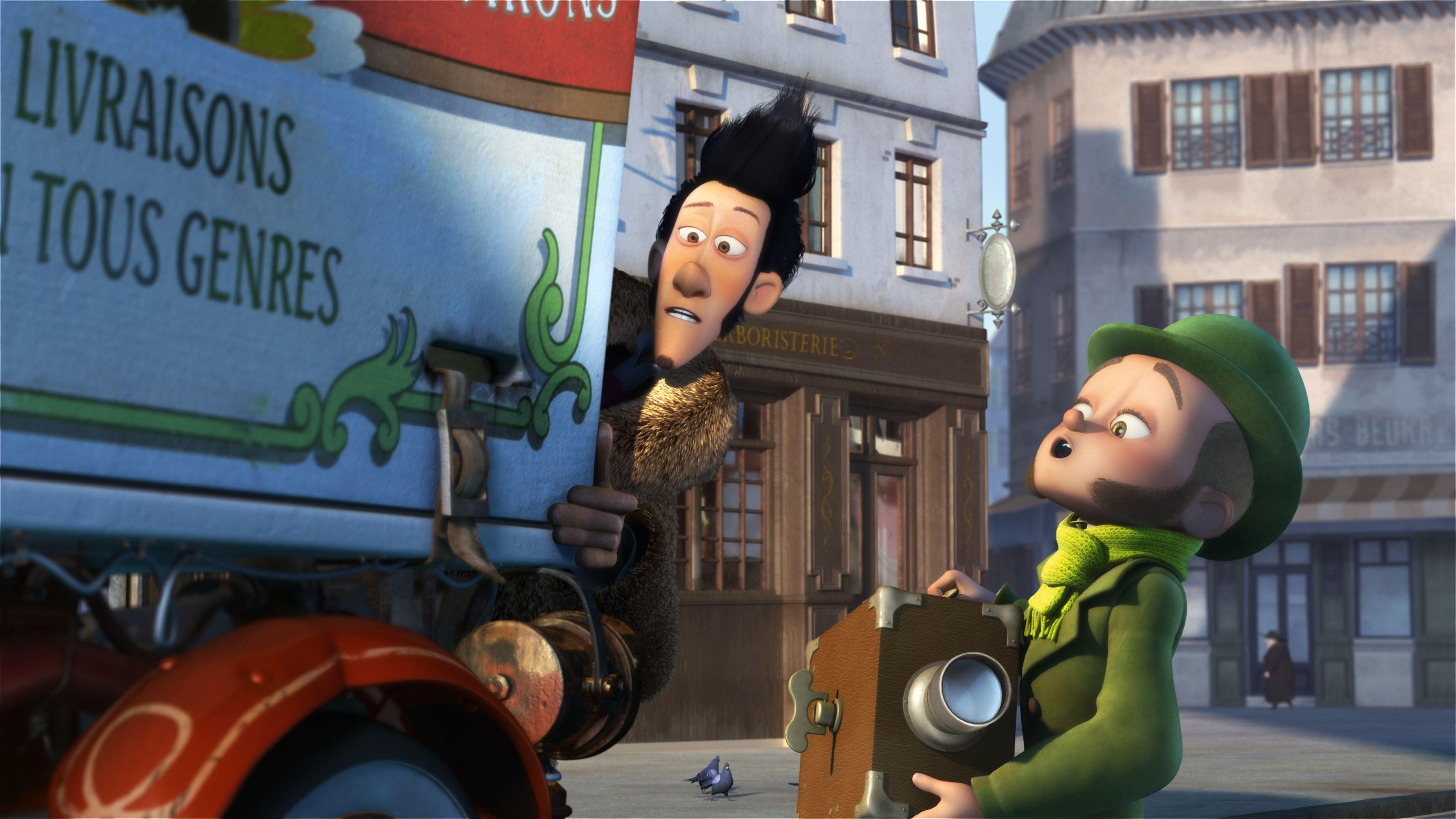 кадры из фильма Монстр в Париже