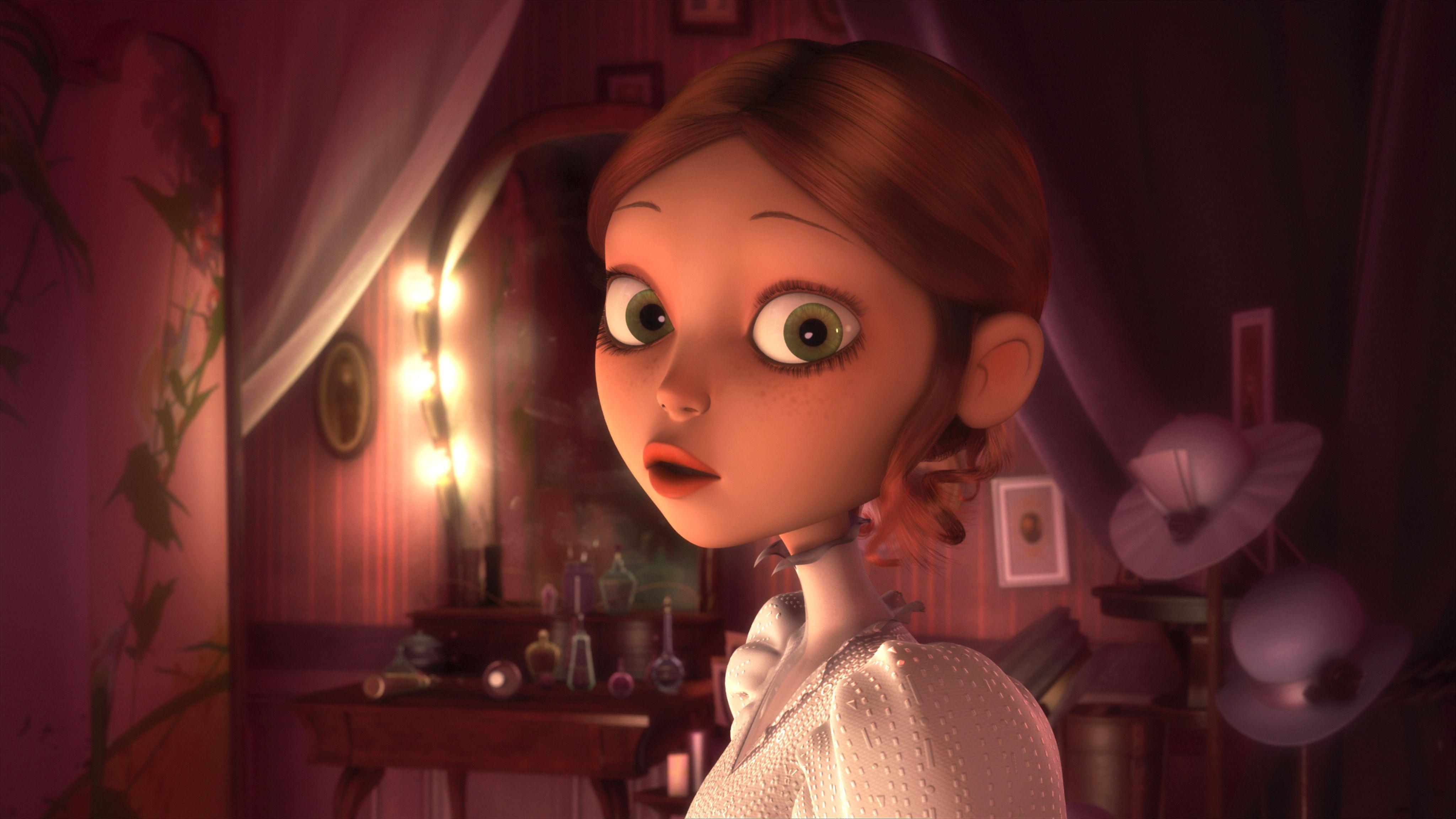 кадры из фильма Монстр в Париже Ванесса Паради,
