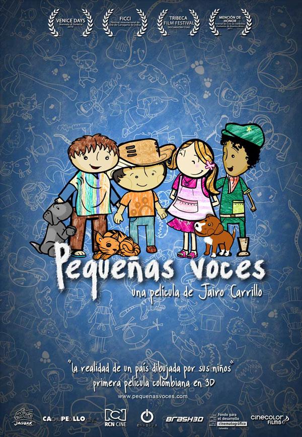 плакат фильма тизер Детские голоса