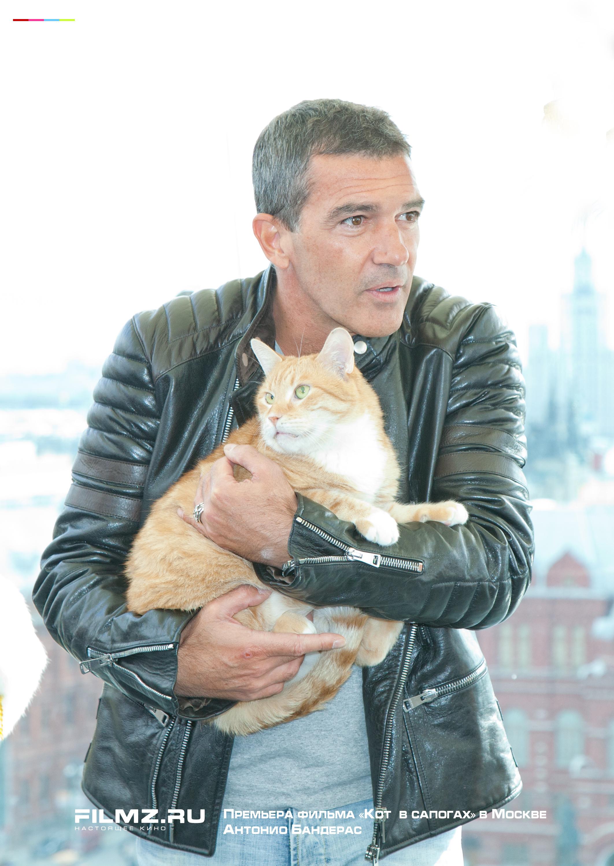 Премьера фильма «Кот в сапогах» в Москве