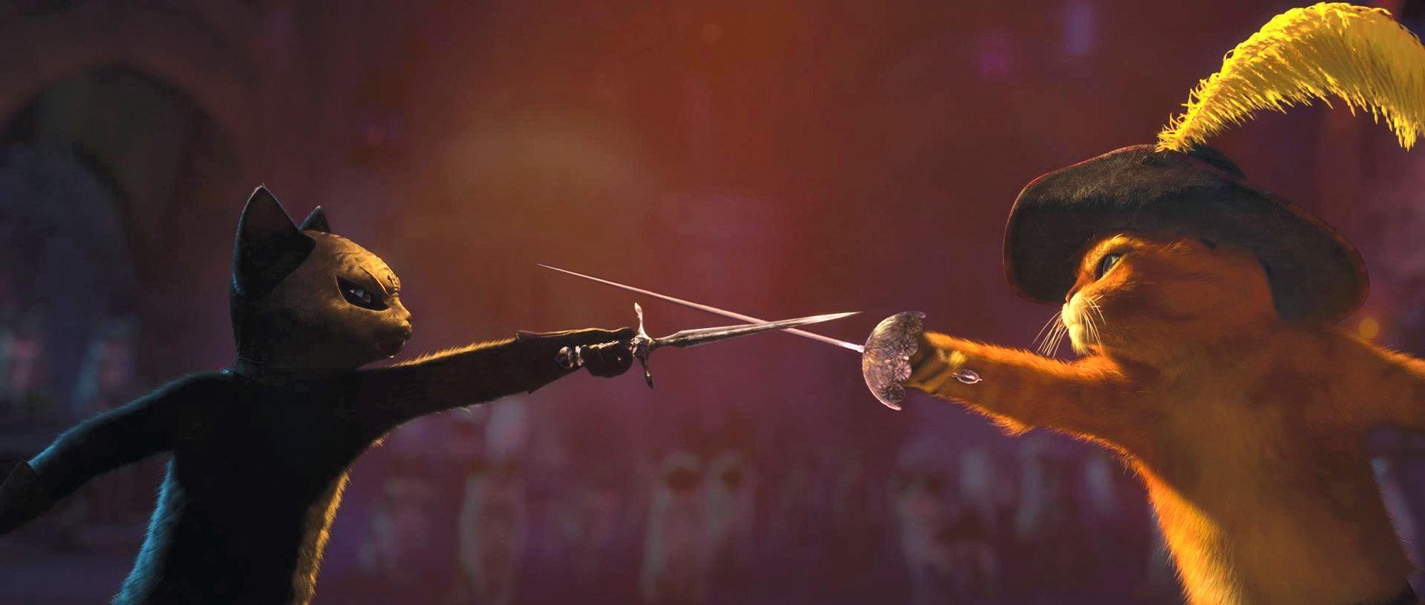 кадры из фильма Кот в сапогах