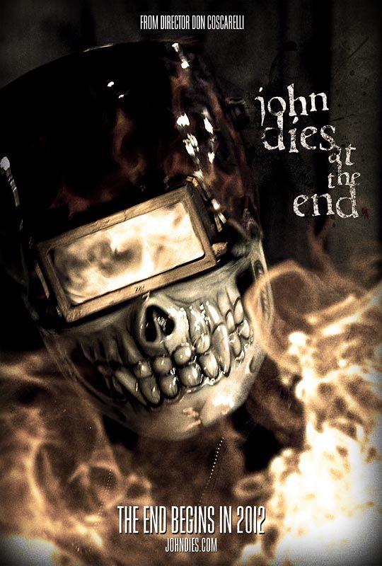 плакат фильма тизер В конце Джон умирает*
