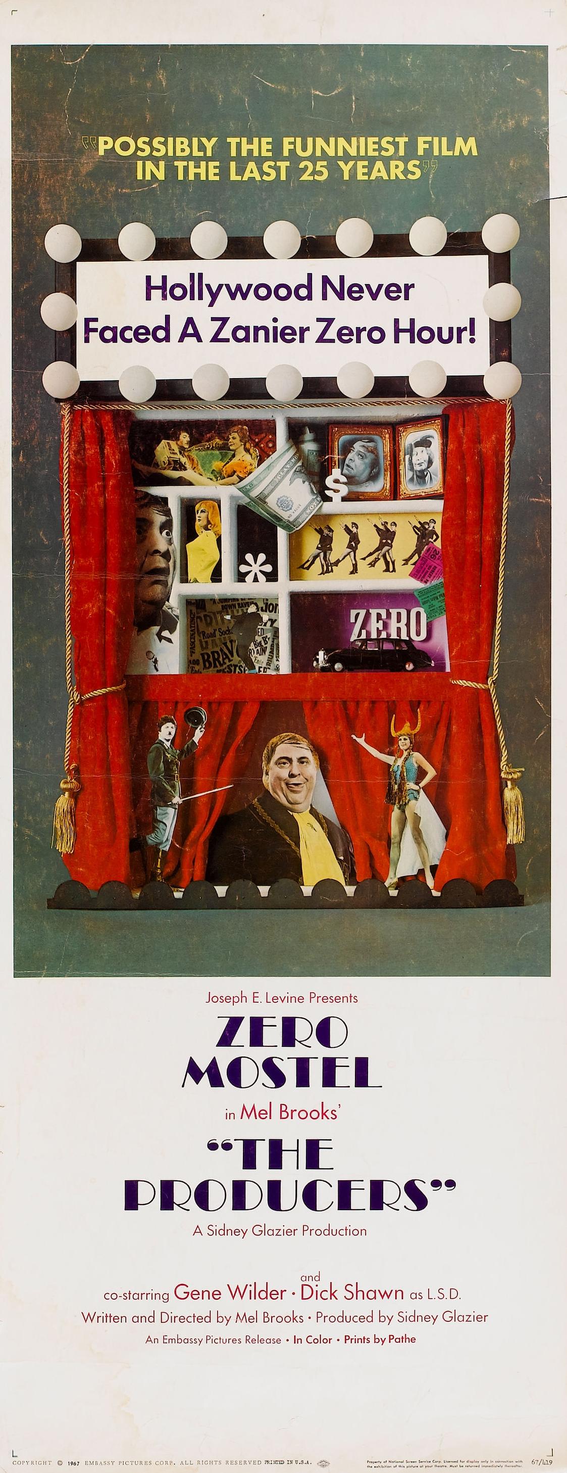 «Продюсеры» — 1968