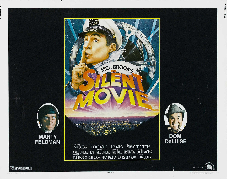 плакат фильма биллборды Немое кино