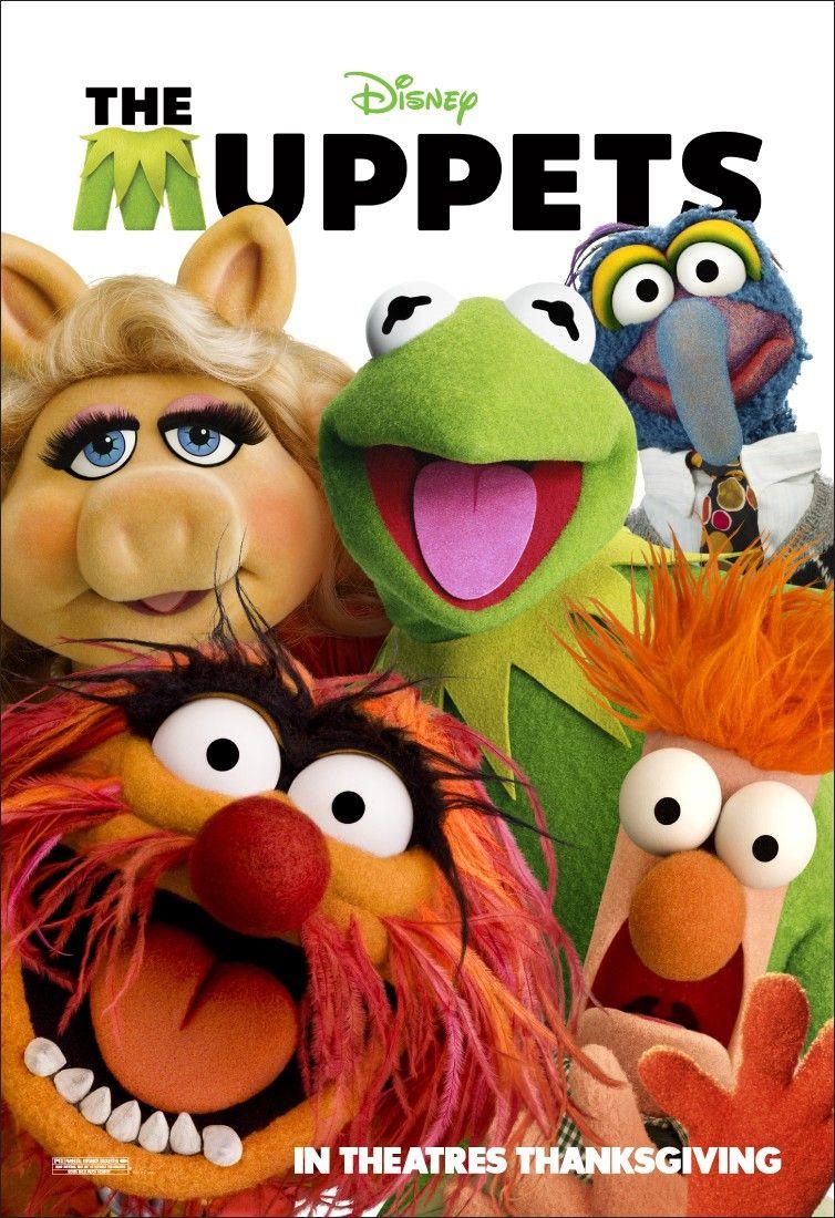 плакат фильма постер Маппеты