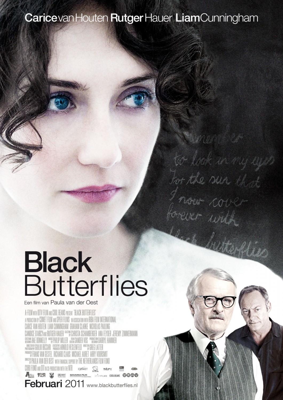 плакат фильма постер Черные бабочки