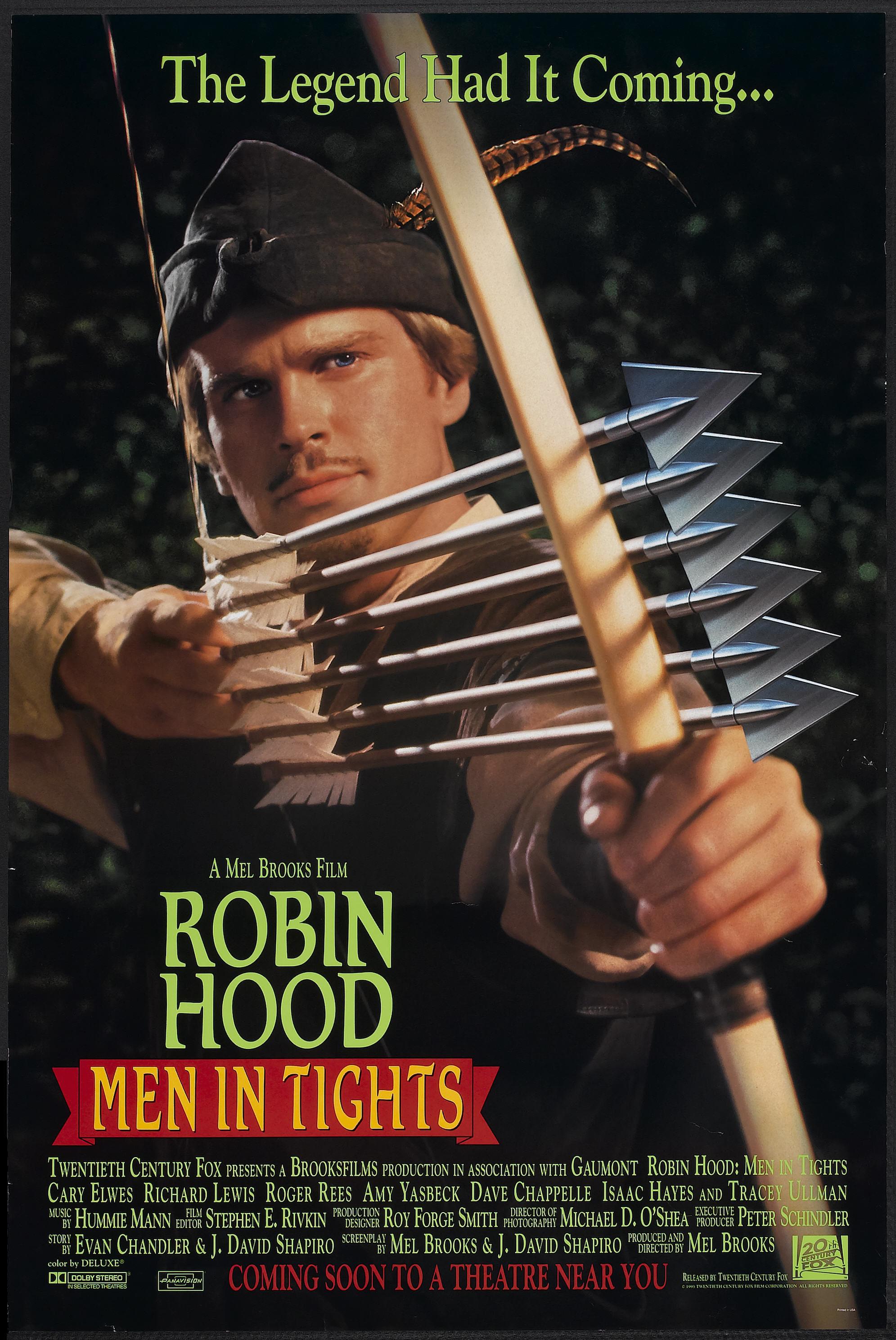 плакат фильма Робин Гуд: Мужчины в трико
