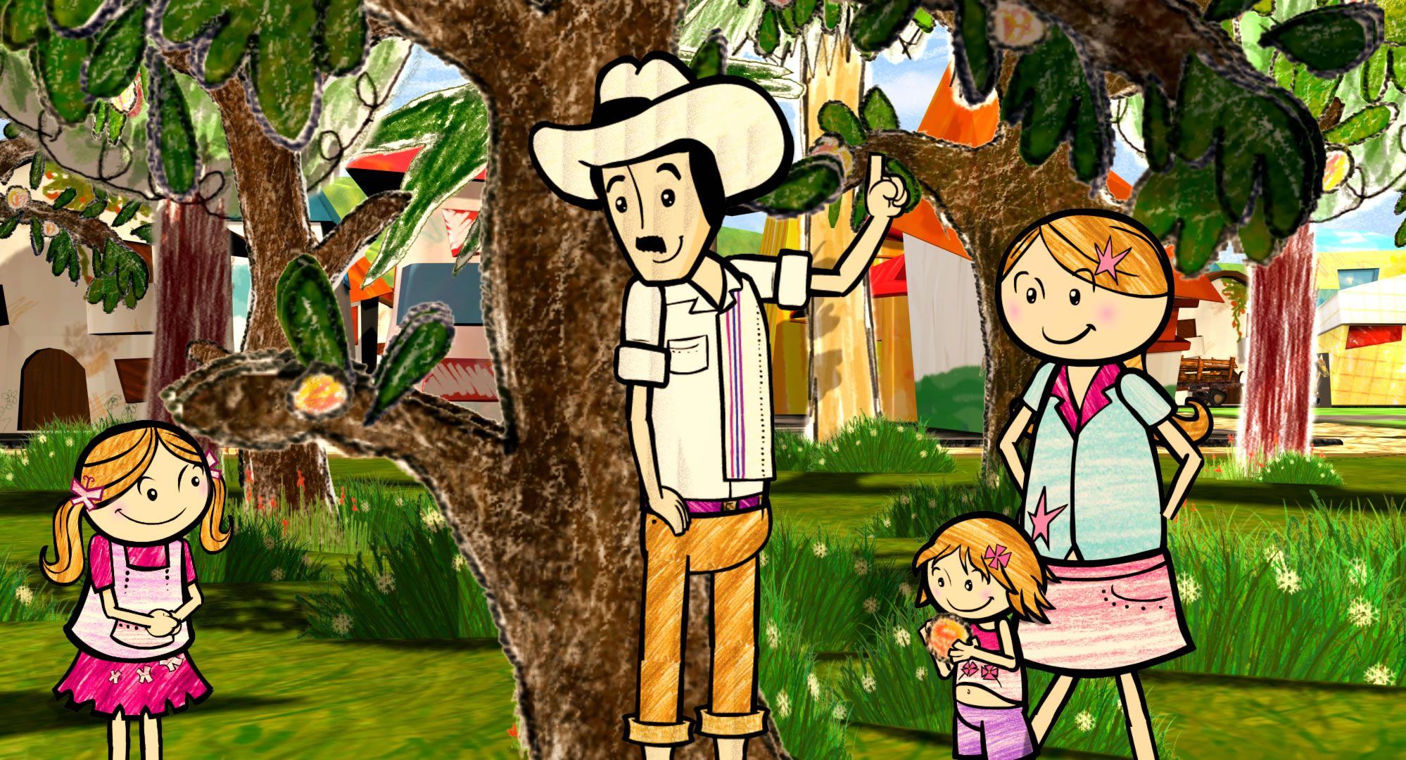 кадры из фильма Детские голоса