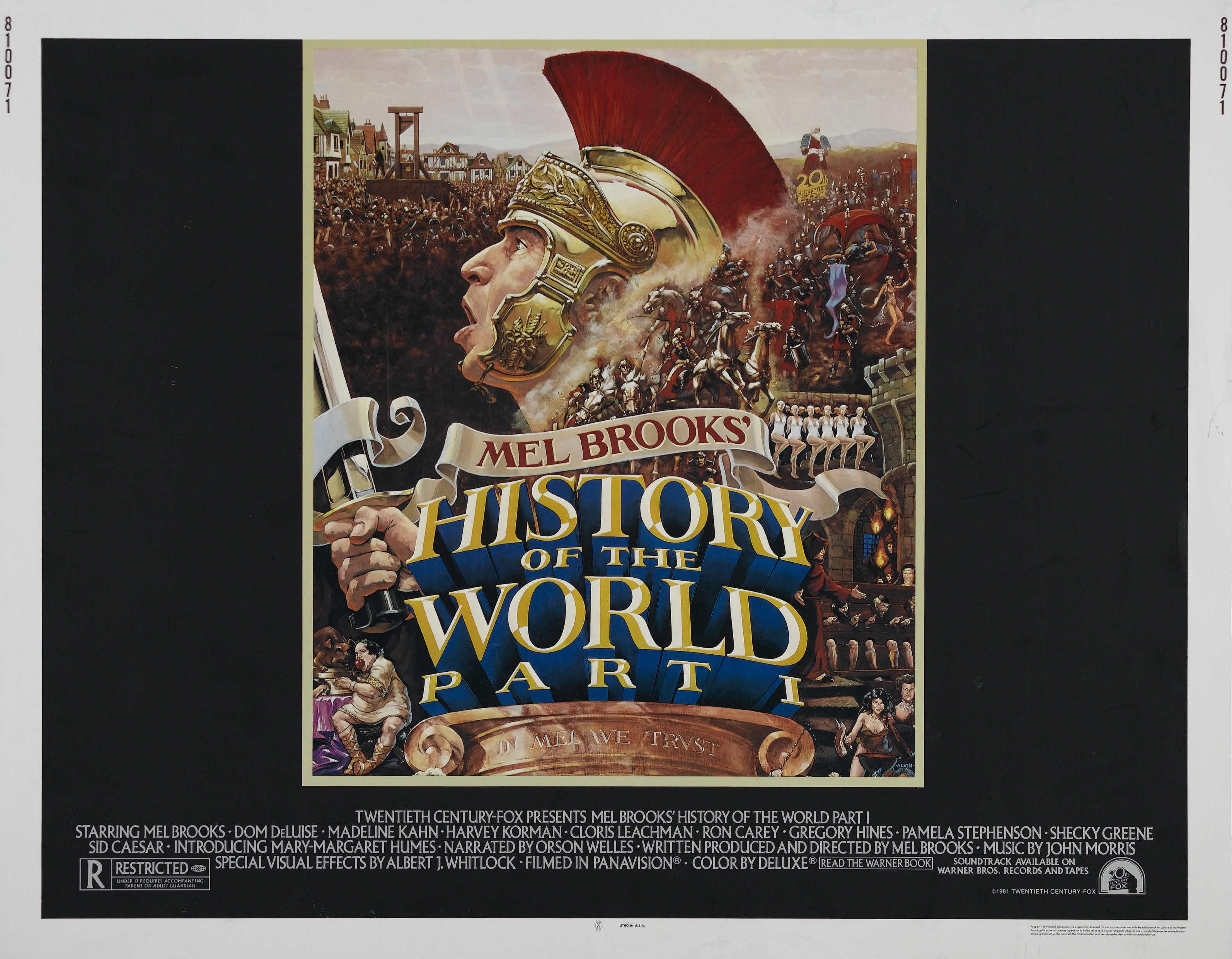 плакат фильма биллборды Всемирная история: Часть 1