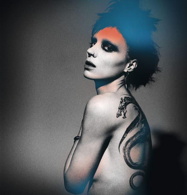 промо-слайды Девушка с татуировкой дракона Руни Мара,