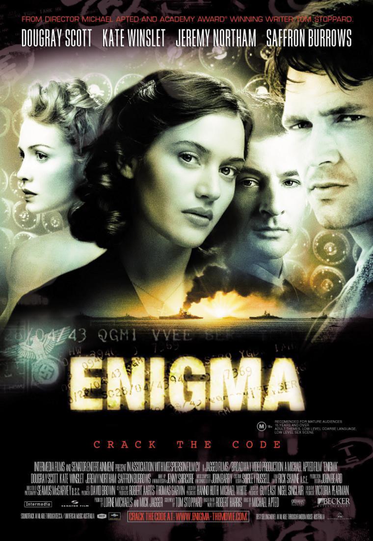 плакат фильма постер Энигма