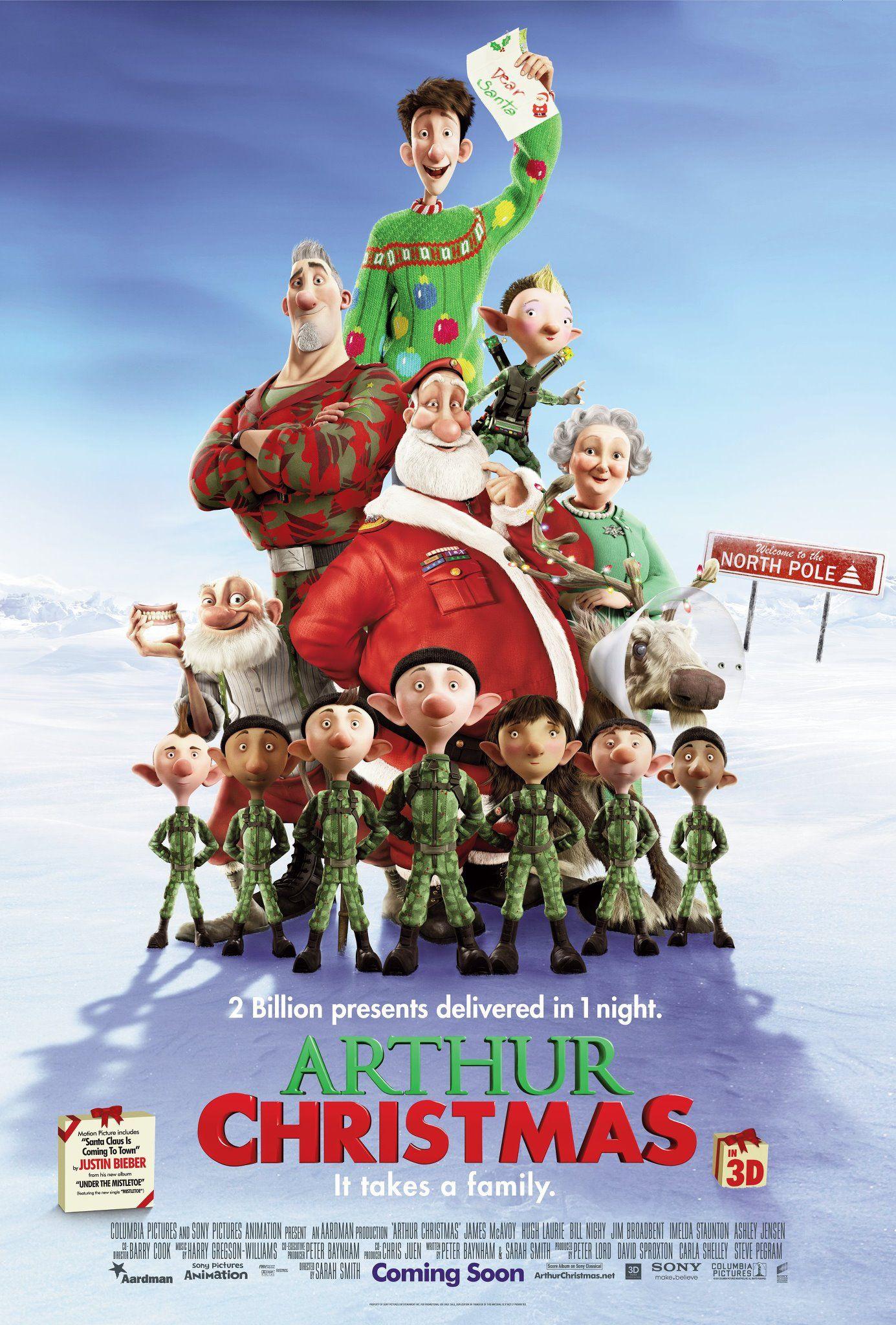 плакат фильма постер Секретная служба Санта Клауса