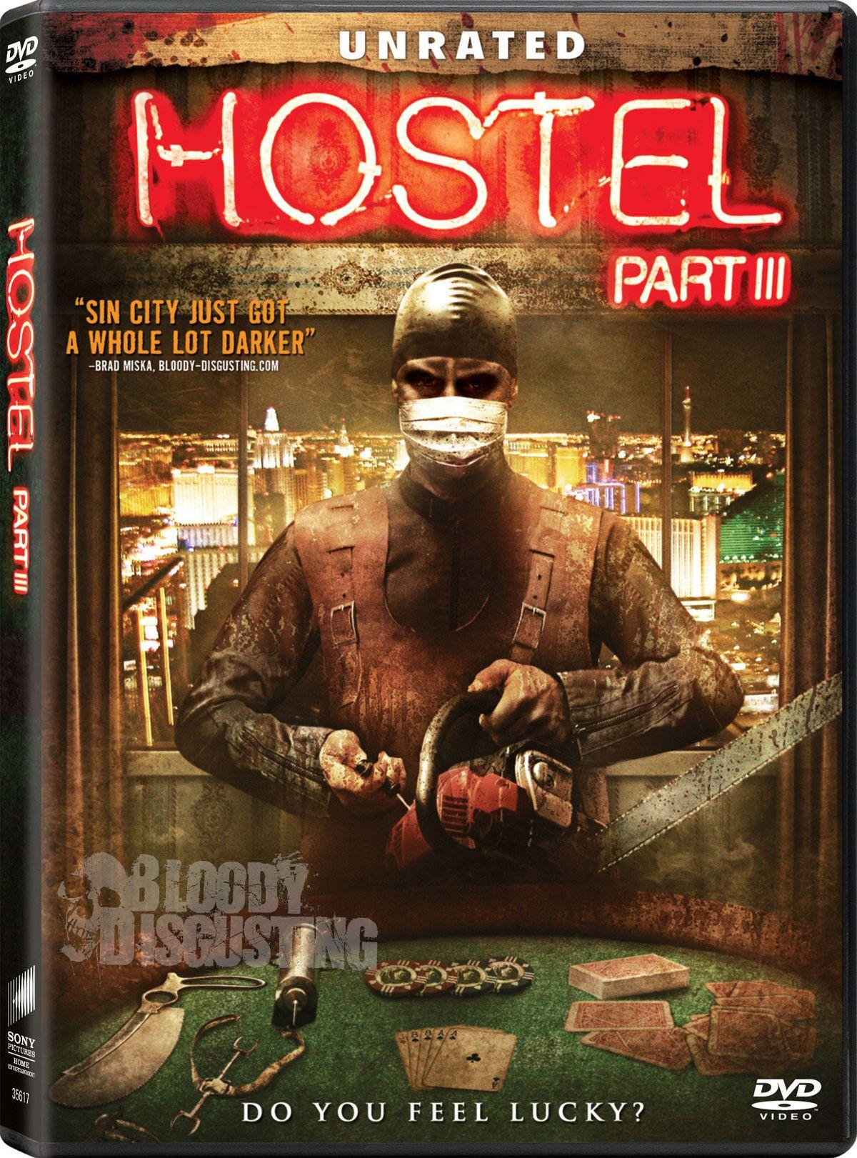 плакат фильма DVD Хостел, часть III*