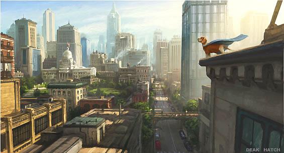 кадры из фильма Суперпес