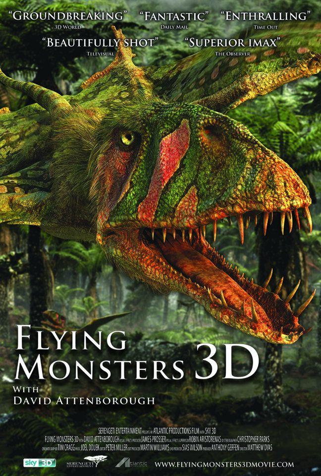 плакат фильма постер Крылатые монстры 3D