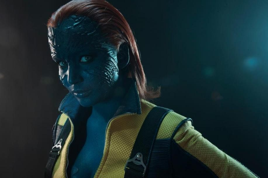 промо-слайды Люди Икс: Первый класс Дженнифер Лоуренс,