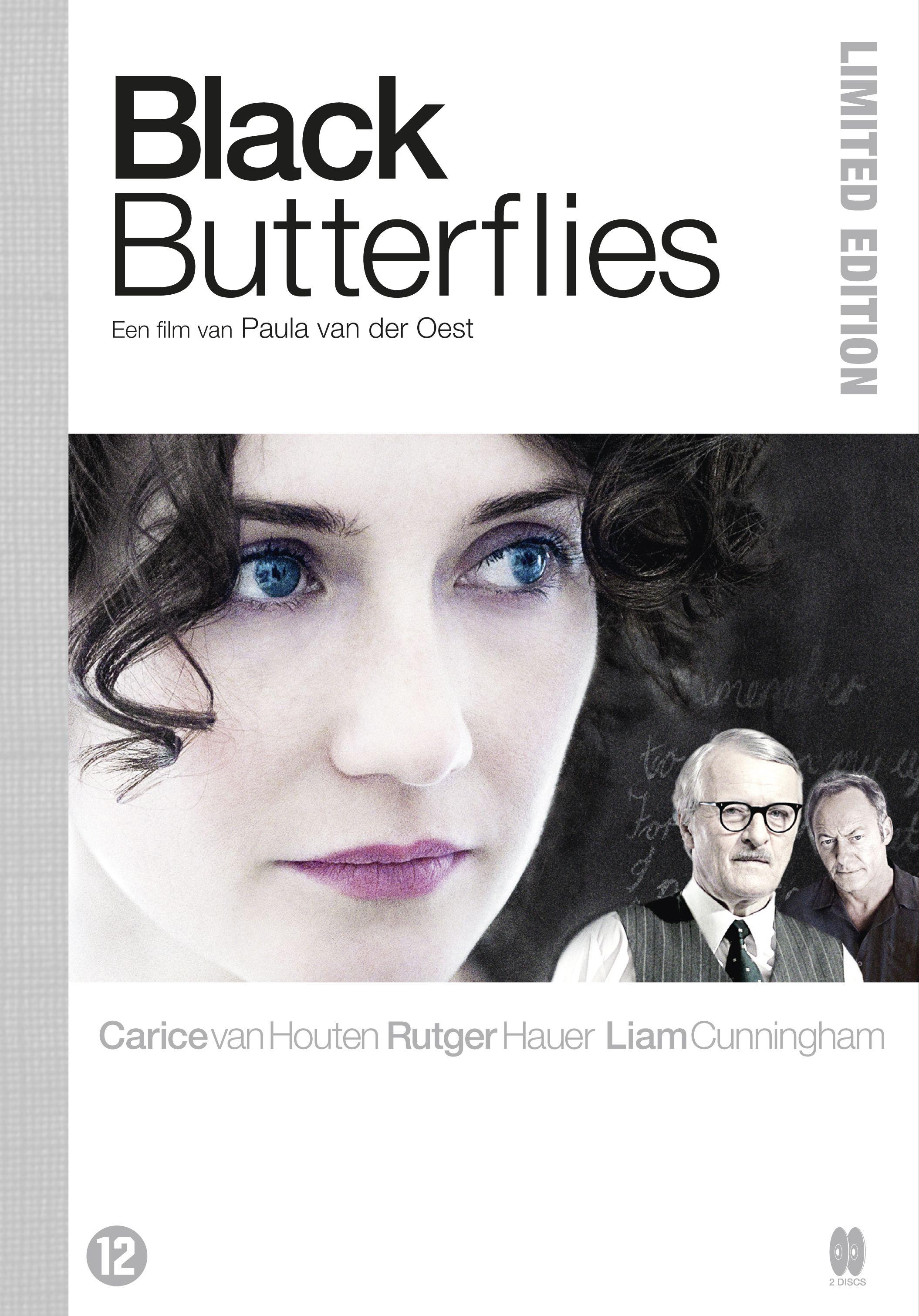 плакат фильма DVD Черные бабочки