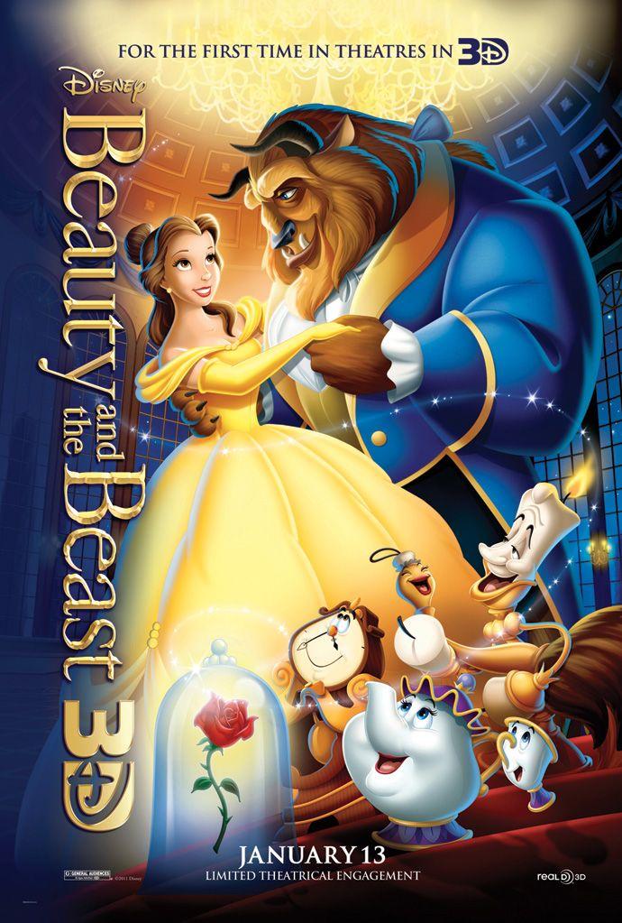 плакат фильма постер Красавица и чудовище