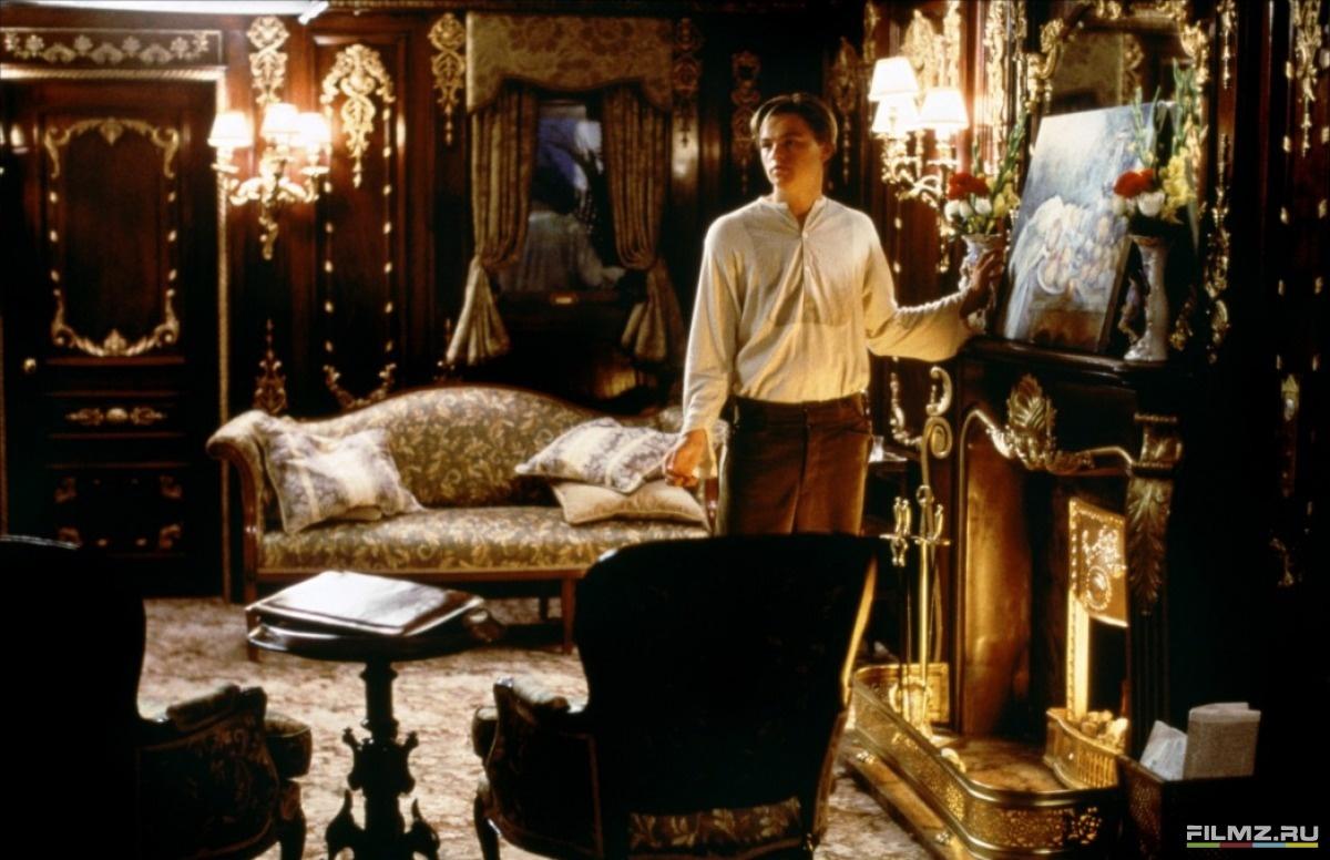 кадры из фильма Титаник Леонардо ДиКаприо,