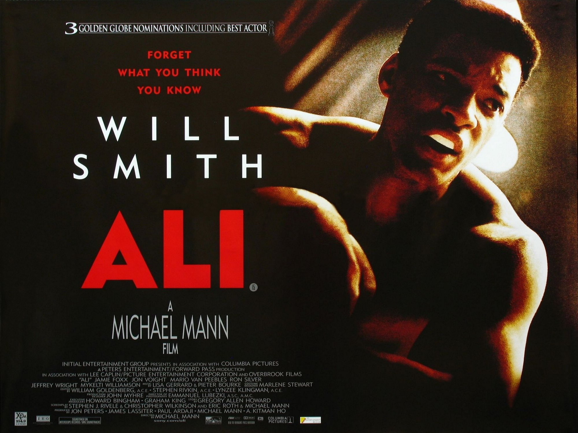 плакат фильма биллборды Али