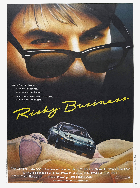 плакат фильма Рискованный бизнес
