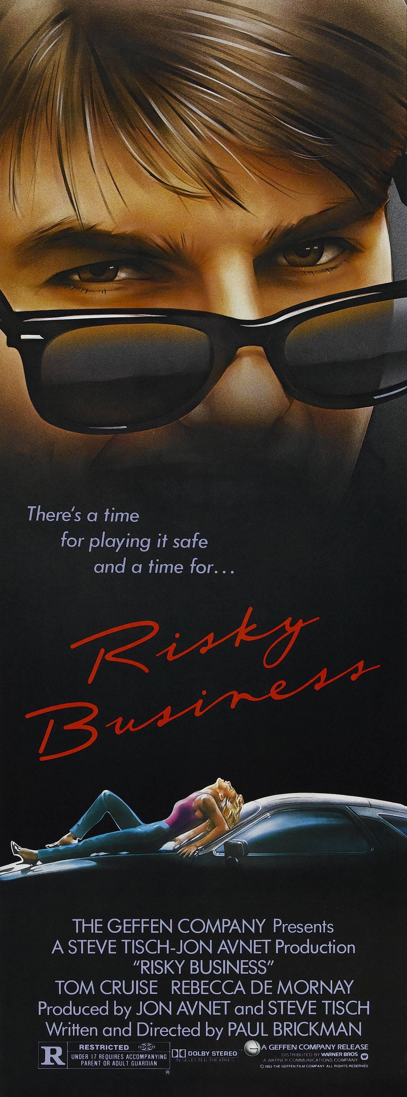 плакат фильма баннер Рискованный бизнес