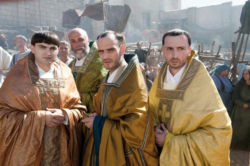 кадры из фильма Иоанна — женщина на папском престоле Анатоль Таубман,