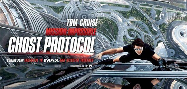 плакат фильма баннер Миссия Невыполнима: Протокол Фантом
