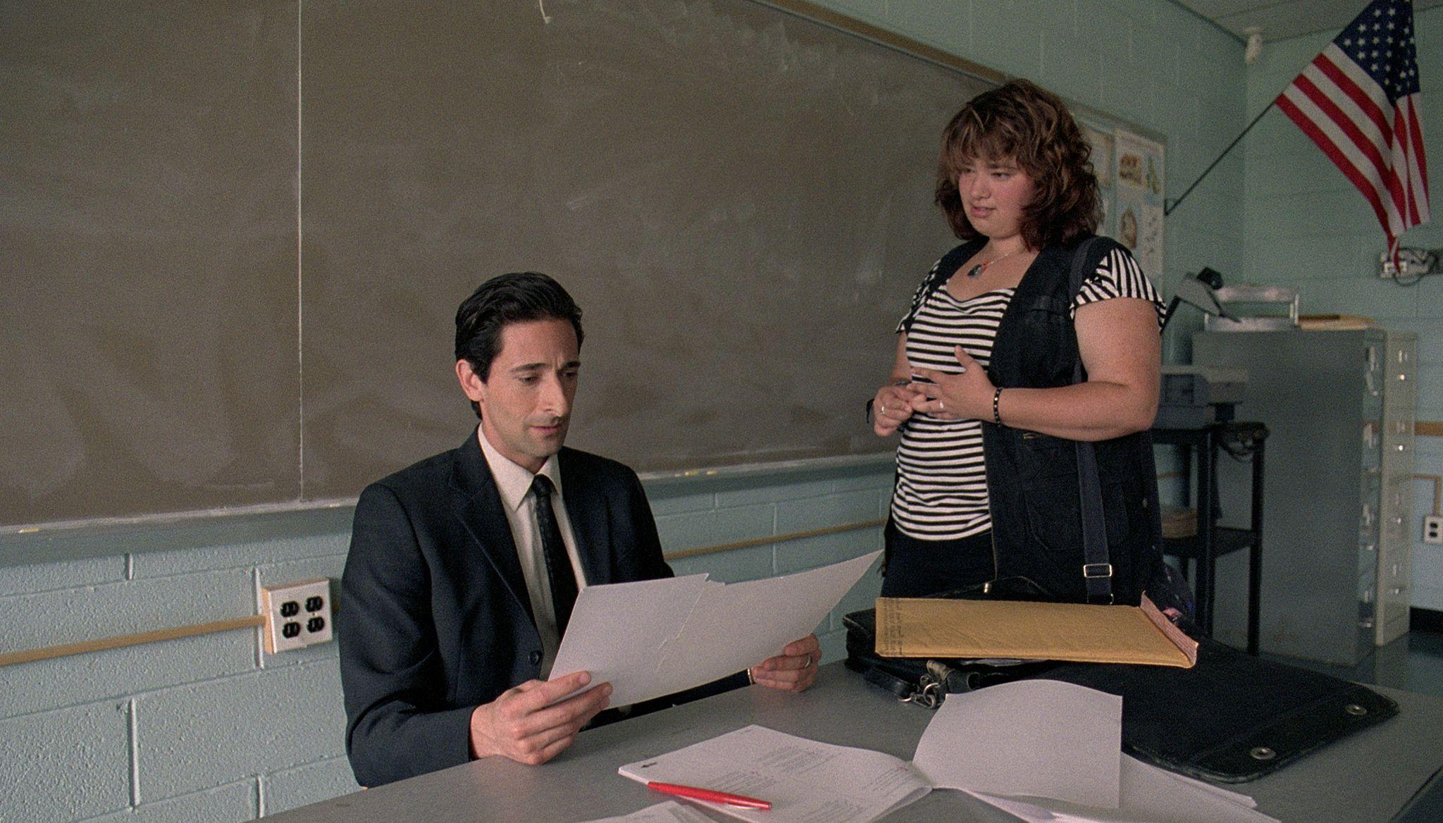 кадры из фильма Учитель на замену Эдриан Броди,