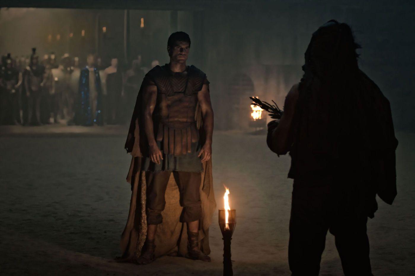 кадры из фильма Война богов: Бессмертные Генри Кэвилл, Микки Рурк,