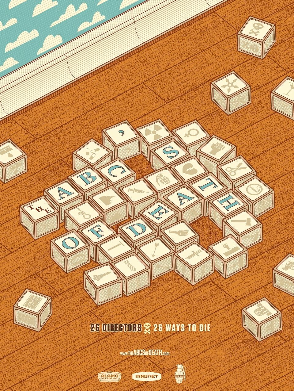 плакат фильма тизер Азбука смерти