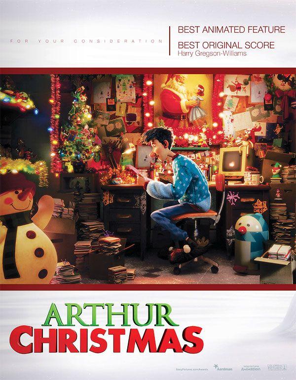 плакат фильма «Оскаровская» кампания Секретная служба Санта Клауса