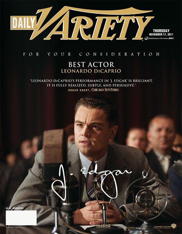 плакат фильма «Оскаровская» кампания Дж. Эдгар