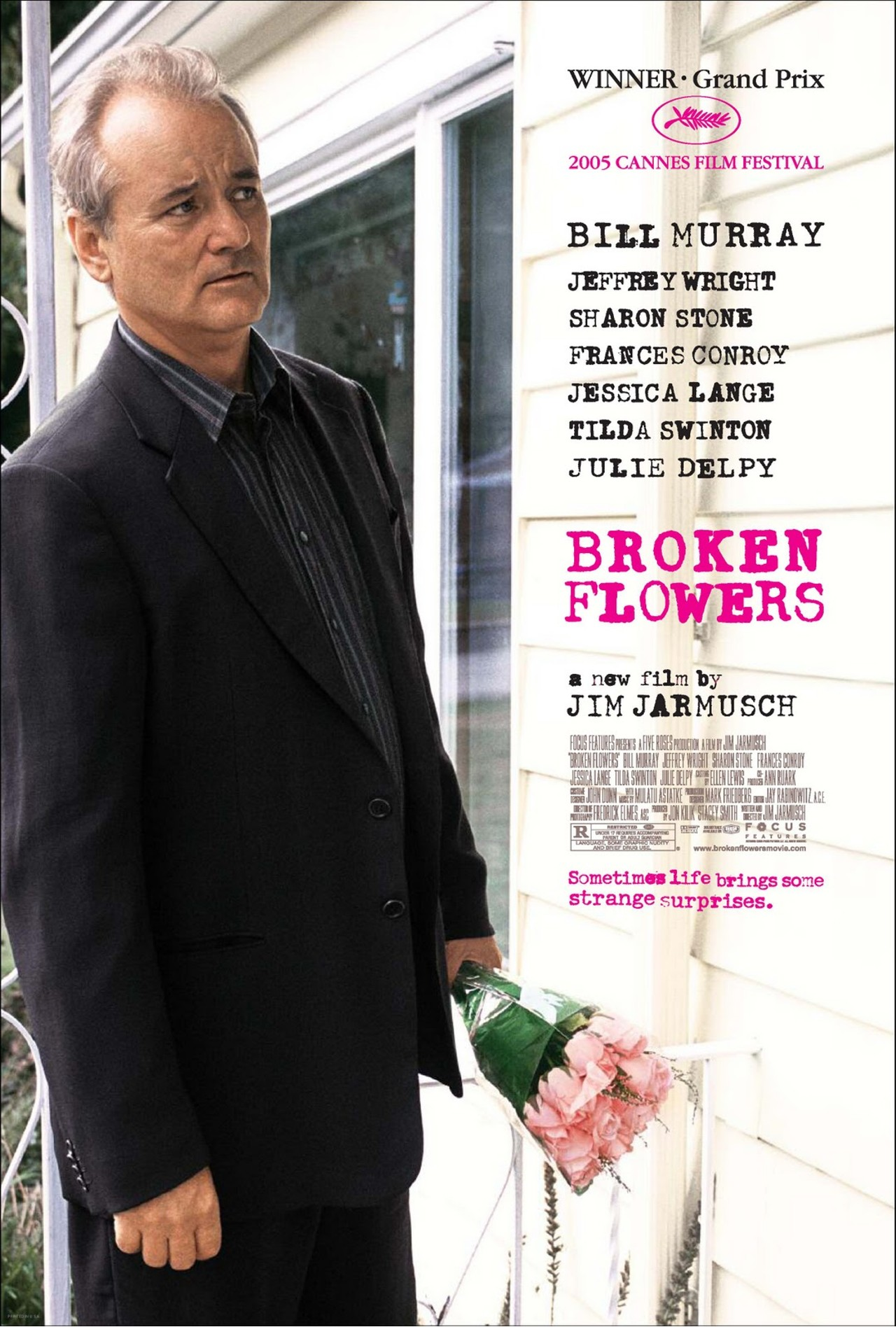 плакат фильма Сломанные цветы